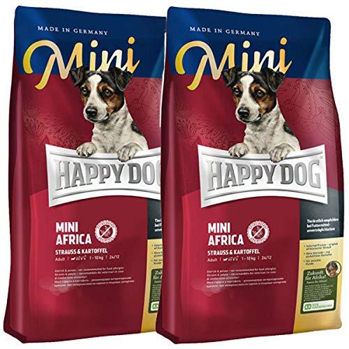 Happy Dog Supreme Mini Africa für ernährungssensible Hunde Kleiner Rassen