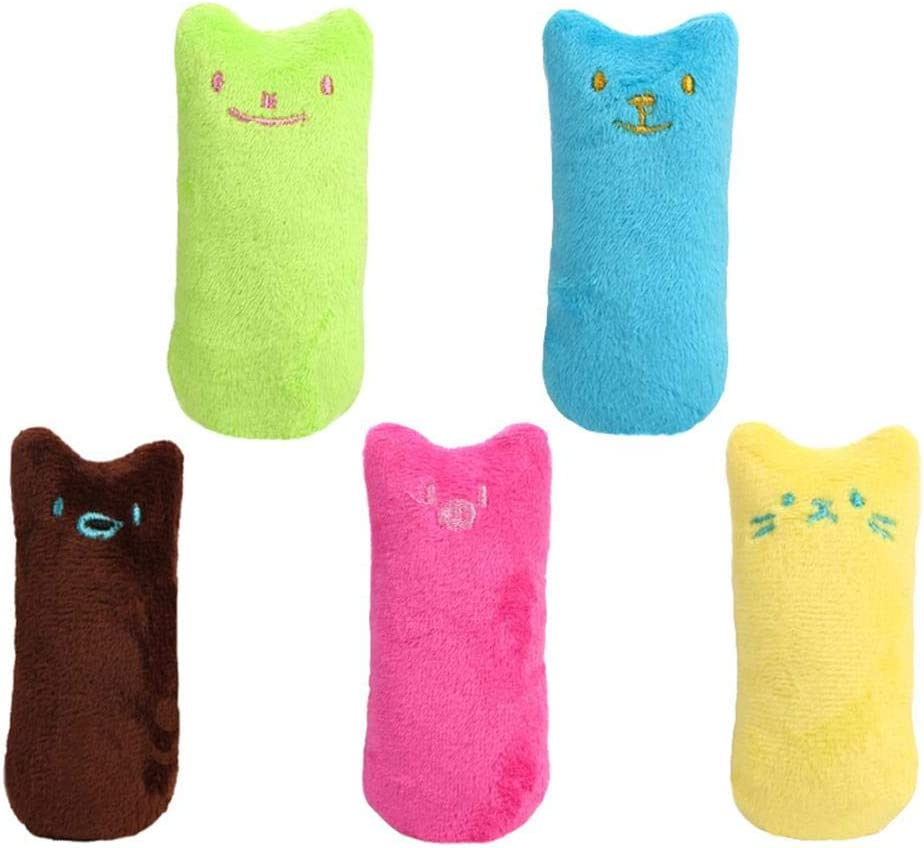 StageOnline 5PCS Catnip Plush Toy Ca Chew Bite Super Special SALE Manufacturer direct delivery held Cat Resistant