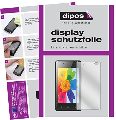 dipos I 6X Schutzfolie klar kompatibel mit Hisense HS-U610 Folie Bildschirmschutzfolie