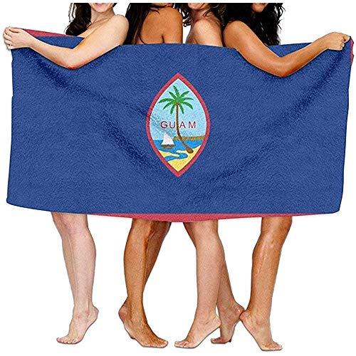Edmun Toalla de baño Toalla de Playa Guam Suave Absorbente Ligero para baño Piscina Yoga Pilates Picnic Manta Toallas 80X130cm