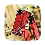 Coque pour Iphone 12,Coque Souple TPU Sangle Arrière pour Iphone 12 11 11Pro 11Promax X XS XR Xsmax...
