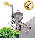 ZHAS Top-Qualität Kaltpressung manuelle Edelstahl Wheatgrass Juicer gesunde Weizengras Entsafter...