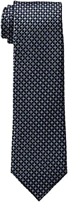 Tommy Hilfiger Men's Core Micro Tie, Navy Blue, One Size