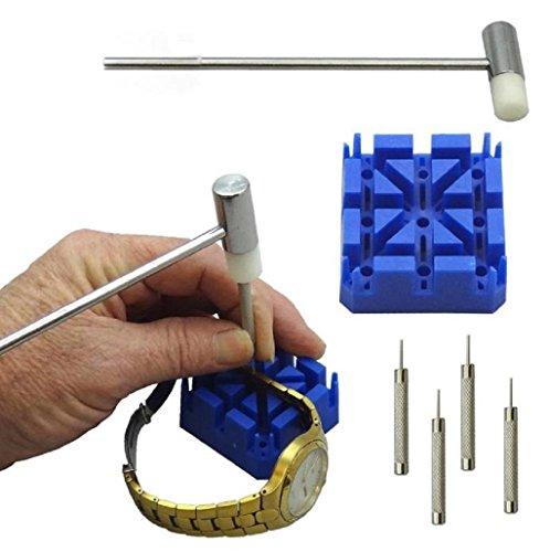 Conjunto de Herramientas portátil 6 piezas Herramientas y kits de reparación, Reparación de Relojes, Removedor Cadenas