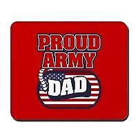 Sunmoohat-アメリカ陸軍誇り高きパパ-滑り止めラバーマウスパッド、ゲーミングマウスパッド