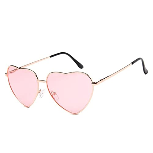 22c58095dbd Flowertree Women s S014 Heart Aviator 55mm Sunglasses