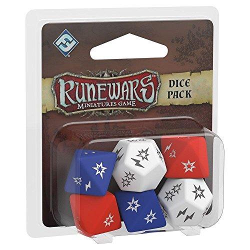 Fantasy Flight Games- Runewars Miniatures Dice Pack - English, Color (FFRWM02)
