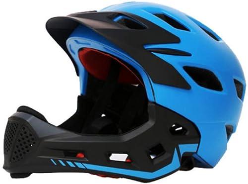 1-1 Détachable Visage Complet Casque des Gamins en Plein air Cyclisme Montagne Bicyclette Rouleau Scooter sécurité Chapeaux