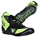 Zapatos de boxeo Master Unisex Leather Fight Sports Mesh Zapatos de boxeo para adultos genuinos