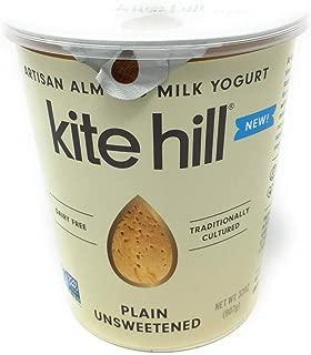 Kite Hill, Yogurt Almond Milk Plain Unsweetened, 32 Ounce