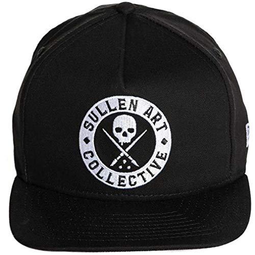 Sullen Clothing - Gorra de béisbol - para Hombre Negro Negro Talla...