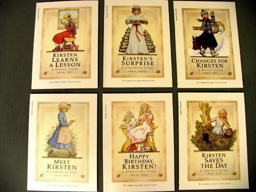 American Girls Collection Kirsten 1854 Set of 6 (1 Meet Kirsten, 2 Kirsten Learns a Lesson, 3 Kirsten's Surprise, 4 Happy Birthday, Kirsten, 5 Kirsten Saves the Day, 6 Changes for Kirsten, Volumes 1-6)