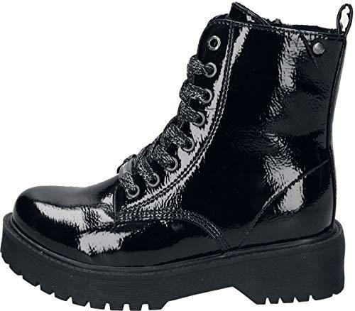 Dockers by Gerli Unisex Kinder Maja Mode-Stiefel, schwarz, 33 EU