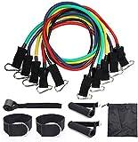 UMBRANDED Widerstand-Bänder Set Übungsbänder for Krafttraining, Physiotherapie, Heim Workouts mit...