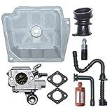 OWENRYIN Juego de juntas de carburador C3R-S236 para motosierra MS361 361, sustituye a las herramientas eléctricas WERA Tools
