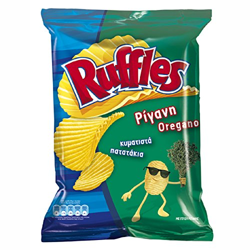 Ruffles Potato Chips From Greece with Cheap mail order specialty store X Packs 74g - quality assurance 22 Oregano