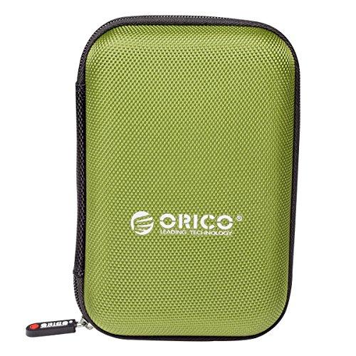 ORICO Funda Disco Duro Externo HDD/SSD 2.5 Pulgadas,Cables,Pasaporte,USB