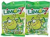 2 Pk. Limon 7 Salt & Lemon Powder Mexican Candy 100 Pieces (200 Pieces Total)