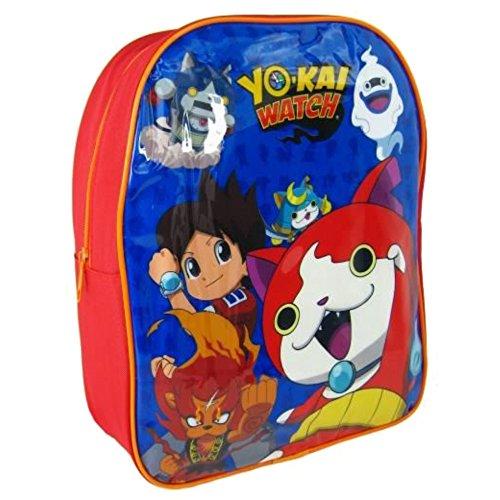 Yo-kai Watch 1000HV-6667 Yo-Kai Watch-25 cm Mochila para guardería, azul, 25 cm