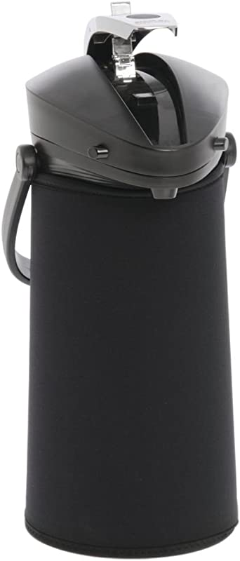JavaSuits Airpot CoverThermal Coffee Dispenser Cover Black Neoprene 11 H