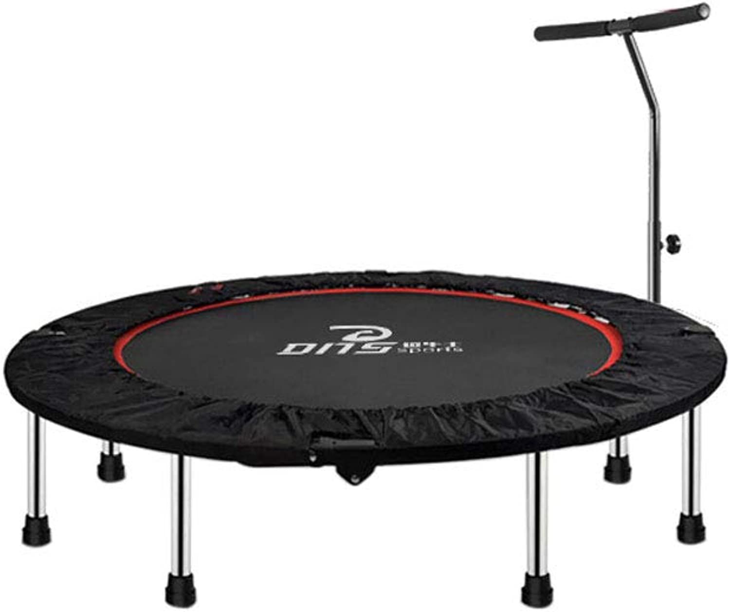 Mesurn Fitness Trampoline, High Load-Bearing Jump Cloth, Low-Noise Soft Rubber Foot Cover, Stable Center of Gravity, Not Easy to Roll Over, Folding and Convenient Trampoline