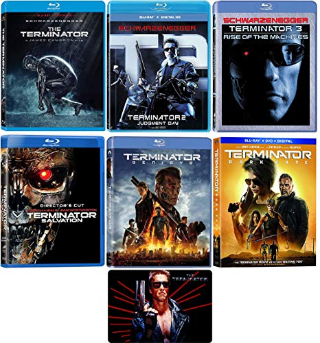 Terminator: Complete 6 Movie Series Blu-ray Collection