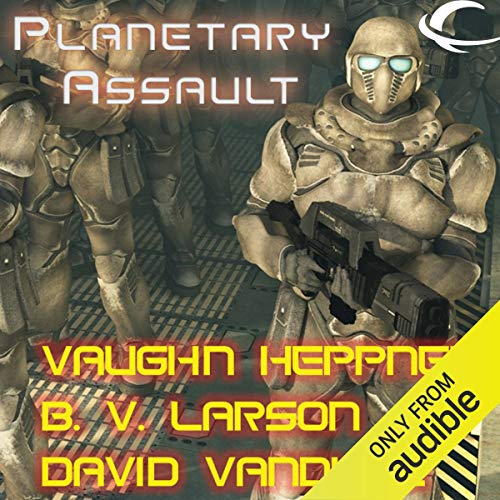 Planetary Assault audiobook cover art