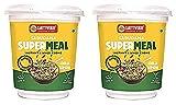Sattviko Sabudana Supermeal Chilli Lemon, Breakfast Food 6 (2 Cups + 4 Refills) Meals, 390 g   Diet...