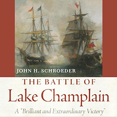 The Battle of Lake Champlain audiobook cover art