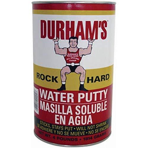 Donald Durhams 4-Pound Rockhard Water Putty