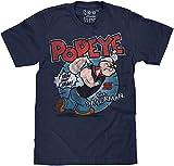 アメリカ 漫画 Popeye the Sailor ポパイ Popeye メンズ/レディース Tシャツ/夏服 半袖 Tシャ
