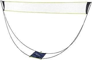 ポータブル取り外し可能なバドミントンネット、折りたたみ式可動式バレーボールネットテニススタンドキャリングバッグ付き、屋外インドアビーチスポーツ用バレーボールネット