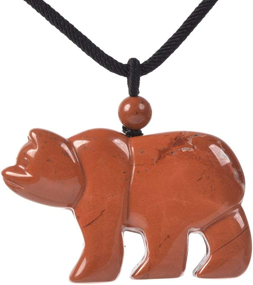 Discount is also underway JUST IN STONES Miami Mall Gemstone Carved Cute Bear Ani 47mm Flatback Polar