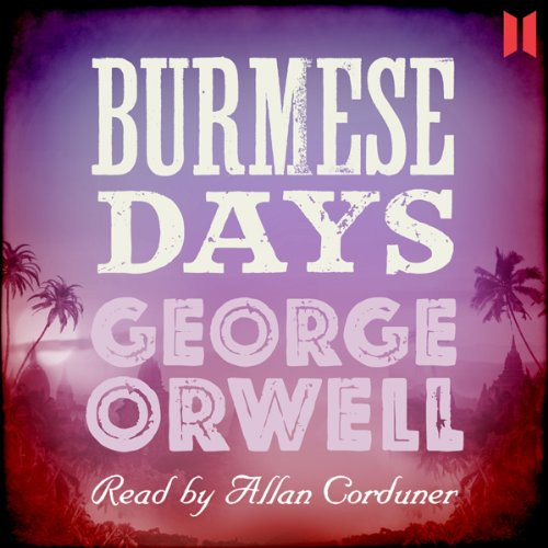 Burmese Days audiobook cover art