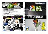 PVC Kartendrucker Vorlagen CD - f. Corel, Photoshop, Word und andere - passend für Kartenschublade IRP310