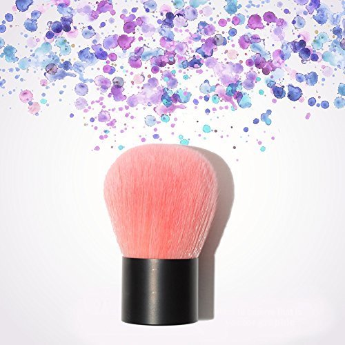 Oshide Make-Up Pinsel Kabuki Schminkpinsel kosmetische Pinsel Gesicht Blush Brush Powder Foundation...