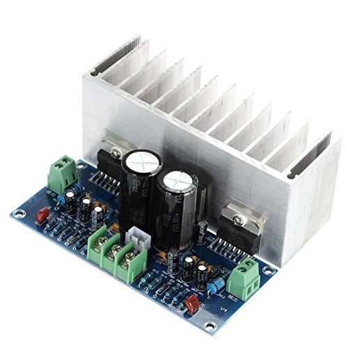 DollaTek TDA7293x2 2-Kanal 100W + 100W Digital Stereo Audio Verstärker Board 2.0 mit Kabel HiFi