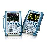 NO BRAND Osciloscopio Digital Osciloscopio 2 Canales de 200 MHz con 6000 Multímetro (Color : Blanco, tamaño : Un tamaño)
