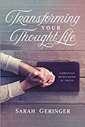 hands clasped over bible, transforming your thought life book cover