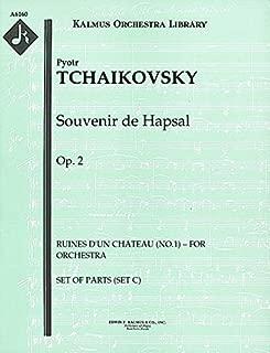 Souvenir de Hapsal, Op.2 (Ruines d'un chateau (No.1) – for orchestra): Set of Parts (Set C) [A6160]