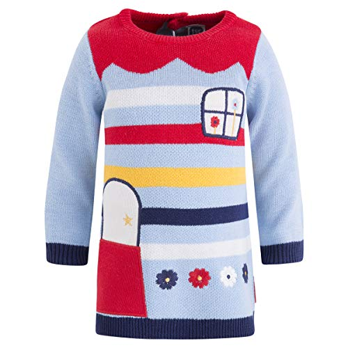Tuc Tuc Vestido Tricot NIÑA, Azul (Azul 16), Recién Nacido (Tamaño del Fabricante:0) para Bebés