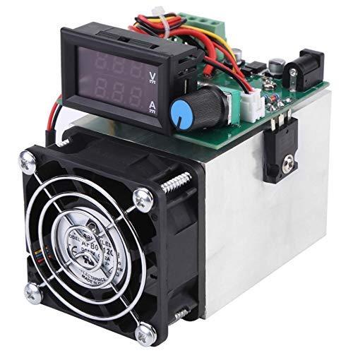 Yongenee Carga electrónica 0-10A 100W DC 12V Capacidad de Descarga de la batería probador Módulo de Pruebas del Ventilador de Alta Velocidad de Carga electrónica 100W
