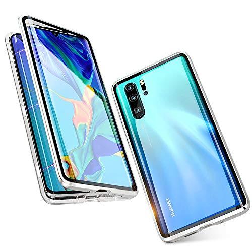 8 P//X//XS//XS max//XR 7p paraurti sottile colorato antiscivolo ad adsorbimento magnetico in metallo color alluminio con doppio coperchio protettivo per iPhone 7//8 Custodia per iPhone Xs MAX