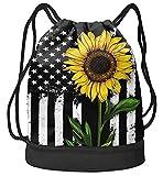 D-WOLVES Drawstring Bag for Women Men...