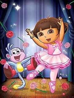 Dora The Explorer Ballet Tv Series 32x24 Print Poster