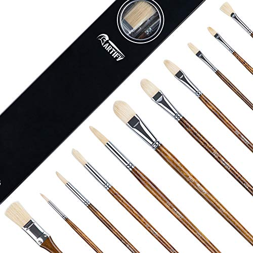 ARTIFY Professional Oil Paint Brush Set