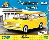 Cobi 24543 - Wartburg 353 Tourist gelb