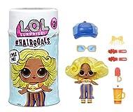 LOL Surprise! Hairgoals, Surprise Doll with Brushable Hair and 15 Surprises, Fun Colour Change Effec...