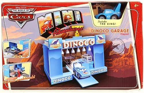 Disney Pixar - CARS - The World of Cars - MINI Adventures - Dinoco Garage Playset & incl. The King - OVP