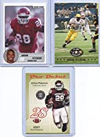 Adrian Peterson Razor 2004-07 3 Rookie Card Lot!1st Ever Printed College Rookie Card!